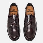 Ботинки лоферы Fred Perry x George Cox Tassel Leather Ox Blood фото- 4