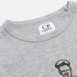 Детский лонгслив C.P. Company U16 Jersey Logo Print Grey фото- 1