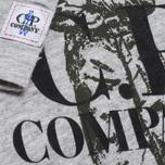 Детский лонгслив C.P. Company U16 Jersey Logo Print Grey фото- 2