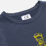C.P. Company U16 Jersey Logo Print Children's Longsleeve Navy photo- 1