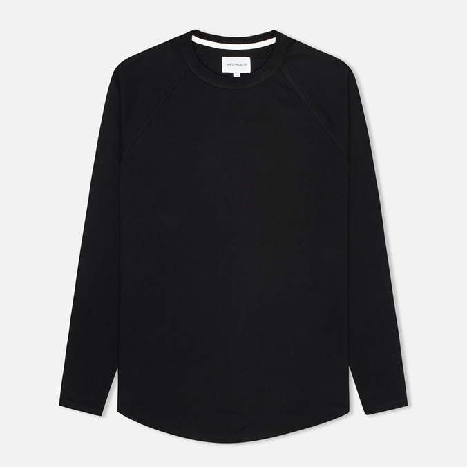 Мужской лонгслив Norse Projects Aske Perforated Jersey Black