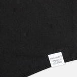 Мужской лонгслив Norse Projects Aske Perforated Jersey Black фото- 2