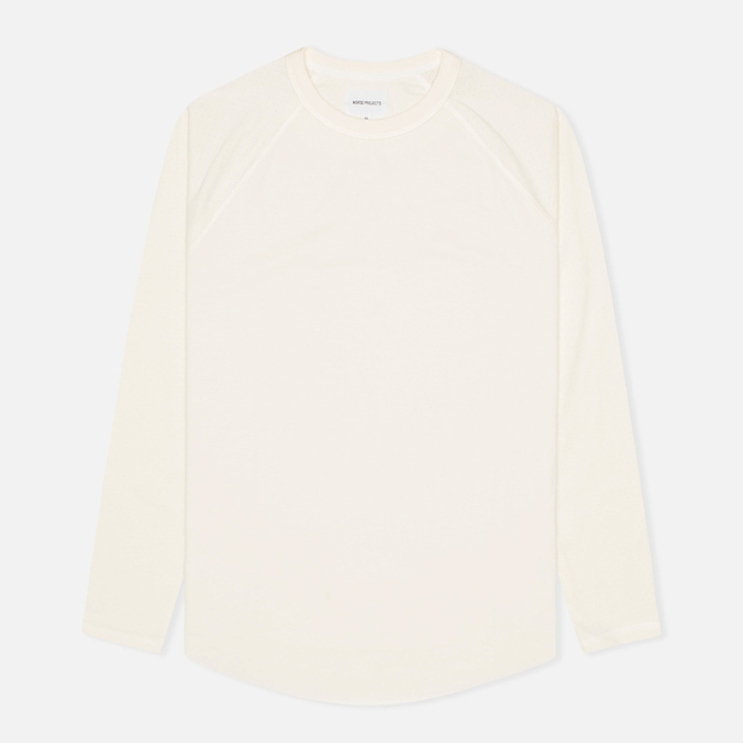 Мужской лонгслив Norse Projects Aske Perforated Jersey Ecru