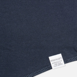 Мужской лонгслив Norse Projects Aske Perforated Jersey Navy фото- 2