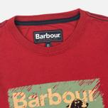 Детский лонгслив Barbour Pointer Crimson фото- 1