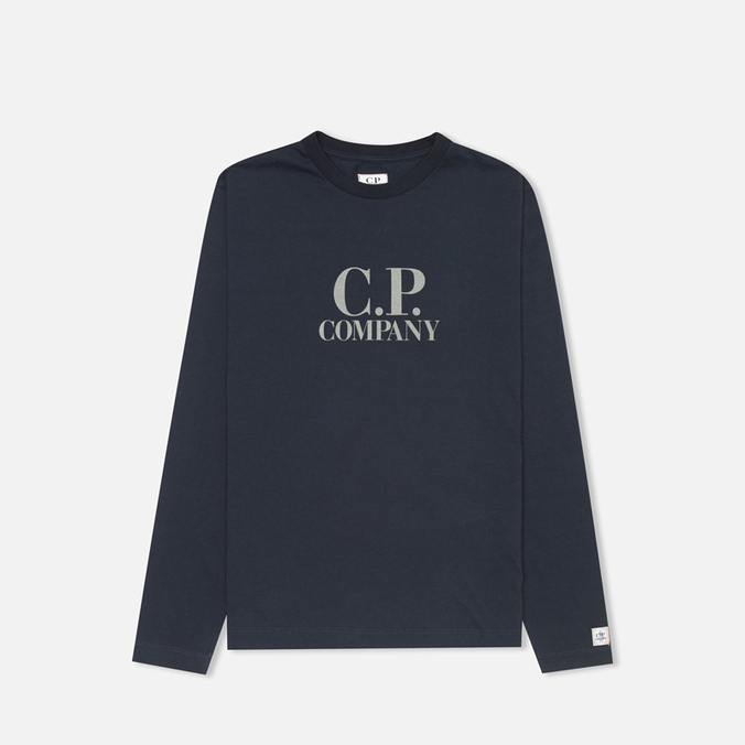 C.P. Company U16 Back Print Children's Longsleeve Blue