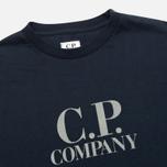 C.P. Company U16 Back Print Children's Longsleeve Blue photo- 2