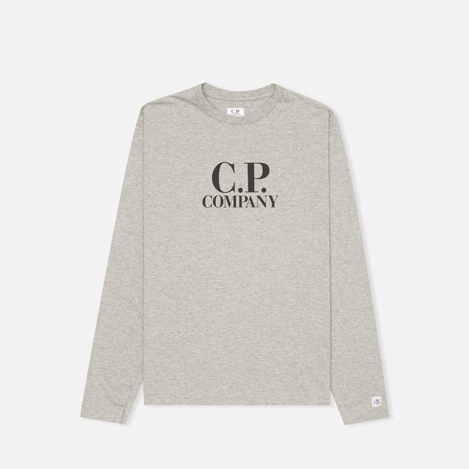 C.P. Company U16 Back Print Children's Longsleeve Grey