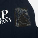 Детский лонгслив C.P. Company U16 T-shirt Blue фото- 2