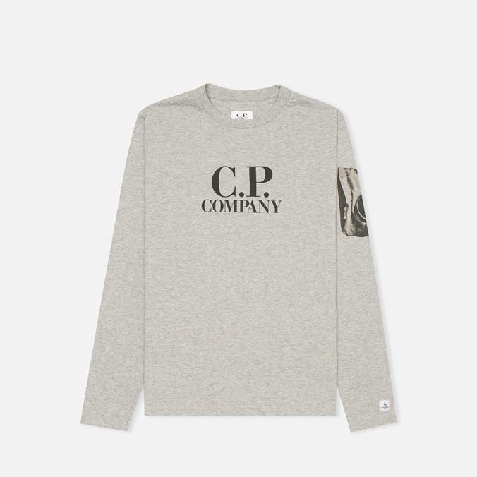 Детский лонгслив C.P. Company U16 T-shirt Grey