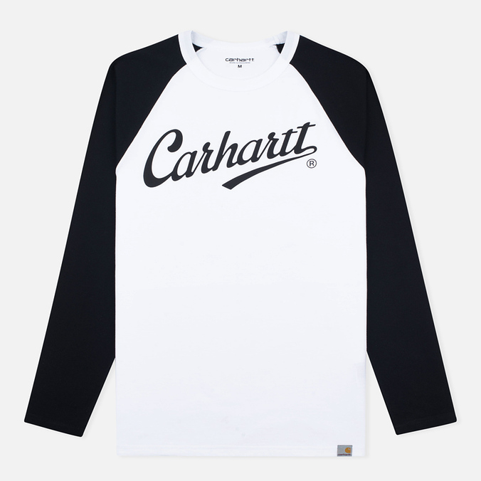 Мужской лонгслив Carhartt WIP League White/Black