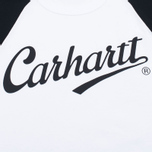 Мужской лонгслив Carhartt WIP League White/Black фото- 2