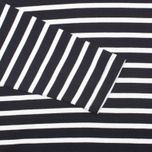 Мужской лонгслив Fred Perry Breton Stripe Navy/White фото- 3