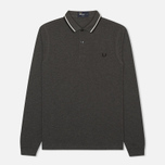Мужской лонгслив Fred Perry M1392 Graphite Marl фото- 0