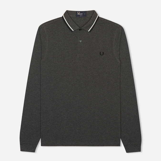 Мужской лонгслив Fred Perry M1392 Graphite Marl