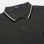 Мужской лонгслив Fred Perry M1392 Graphite Marl фото- 1