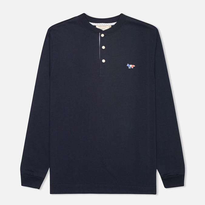 Мужской лонгслив Maison Kitsune Tee Long Sleeves Navy