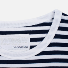 Мужской лонгслив Nanamica Coolmax St. Jersey Navy/White фото- 2