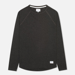 Мужской лонгслив Norse Projects Aske Perforated Charcoal Melange фото- 0