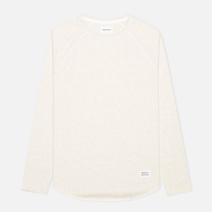 Мужской лонгслив Norse Projects Aske Perforated Ecru Melange