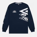 Мужской лонгслив Umbro Pro Training Prestige Navy фото- 0