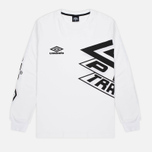 Мужской лонгслив Umbro Pro Training Prestige White фото- 0