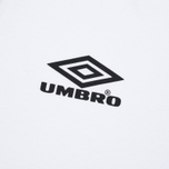 Мужской лонгслив Umbro Pro Training Prestige White фото- 2