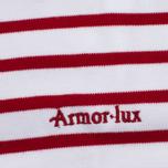 Женский лонгслив Armor-Lux Lesconil Genuine Breton Blanc/Braise фото- 3