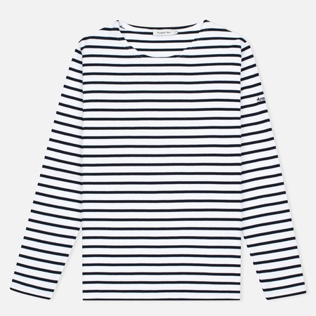 Женский лонгслив Armor-Lux Lesconil Genuine Breton Blanc/Rich Navy