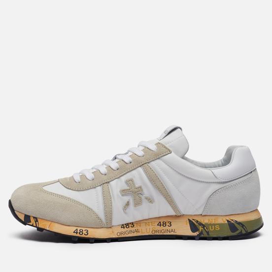 Мужские кроссовки Premiata Lucy 5153 White/Beige