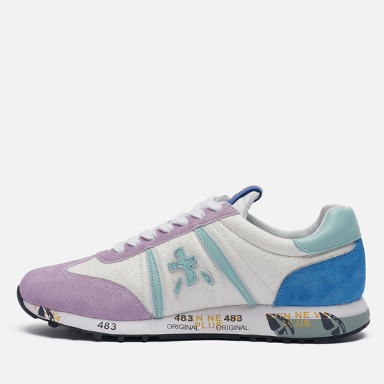 Женские кроссовки Premiata Lucy-d 5101 White/Purple