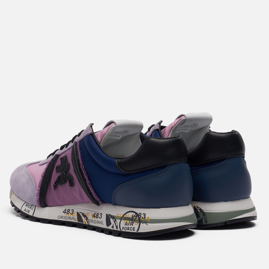 Женские кроссовки Premiata Lucy-d 5300 Navy/Purple