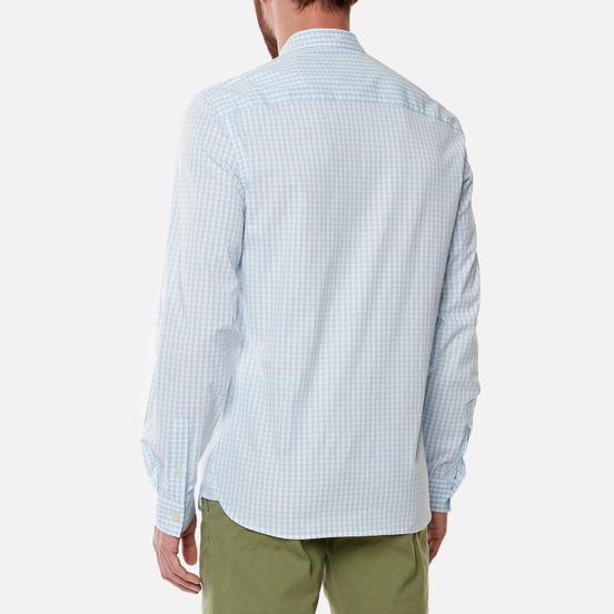 Мужская рубашка Lyle & Scott LS Slim Fit Gingham Deck Blue/White