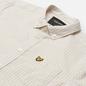 Мужская рубашка Lyle & Scott LS Slim Fit Gingham White/Sesame фото - 1