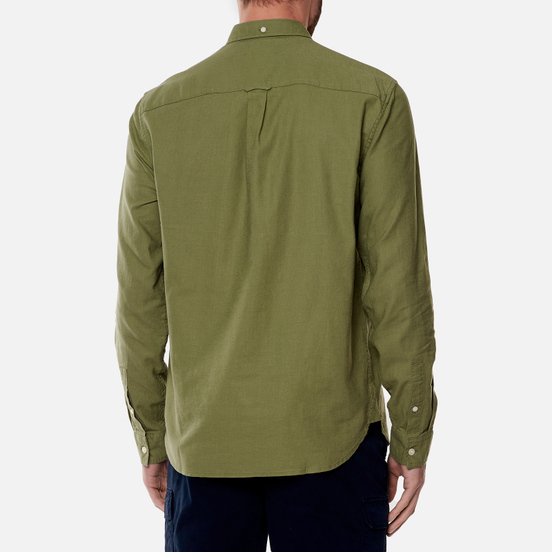 Мужская рубашка Lyle & Scott Cotton Linen Moss