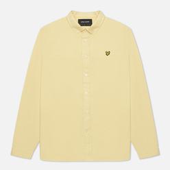 Мужская рубашка Lyle & Scott Cotton Linen Lemon