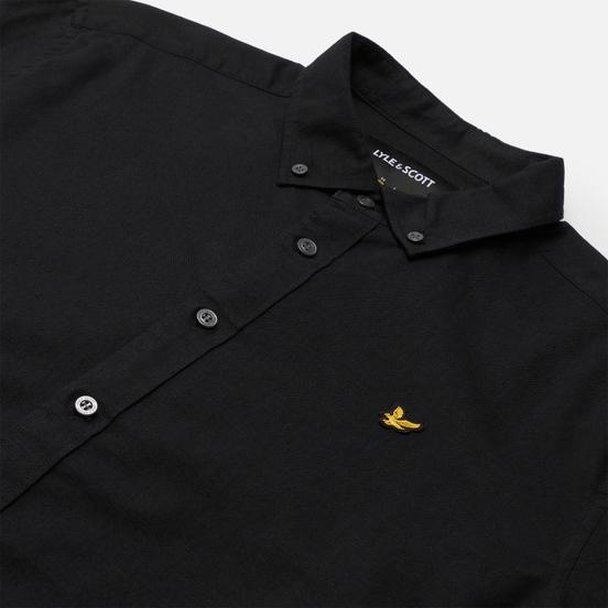 Мужская рубашка Lyle & Scott Cotton Linen Jet Black