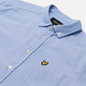 Мужская рубашка Lyle & Scott Regular Fit Light Weight Oxford Riviera фото - 1