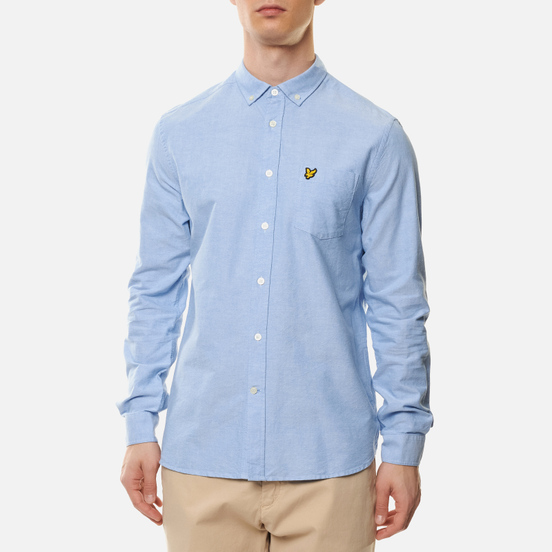 Мужская рубашка Lyle & Scott Regular Fit Light Weight Oxford Riviera