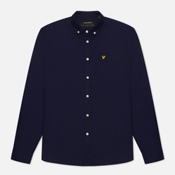 Мужская рубашка Lyle & Scott Regular Fit Light Weight Oxford Navy