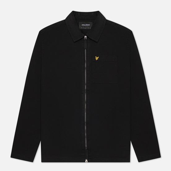 Мужская куртка Lyle & Scott Twill Overshirt Jet Black