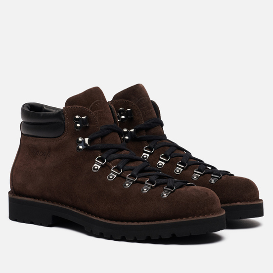 Ботинки Fracap M127 Suede/Nebraska Coffee/Black/Roccia Black