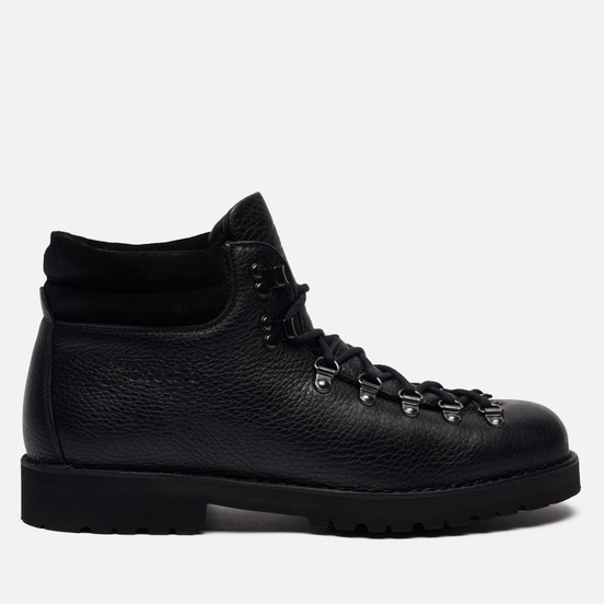 Ботинки Fracap M127 Marbled/Suede Fur Black/Roccia Black