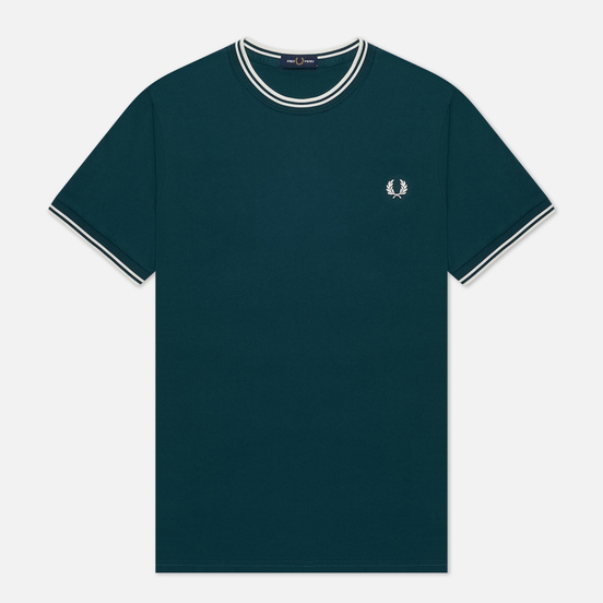 Мужская футболка Fred Perry Twin Tipped Petrol Blue
