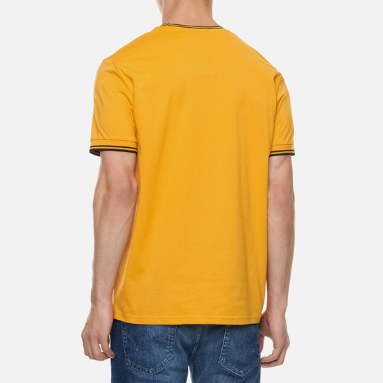 Мужская футболка Fred Perry Twin Tipped Amber