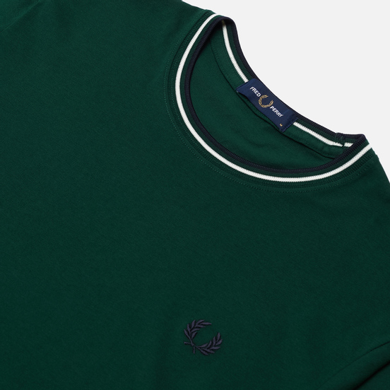 Мужская футболка Fred Perry Twin Tipped Ivy