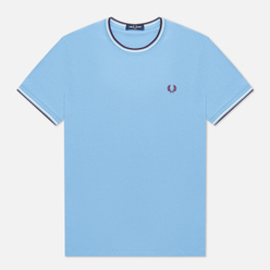 Мужская футболка Fred Perry Twin Tipped Sky