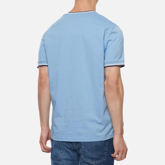 Мужская футболка Fred Perry Twin Tipped Sky
