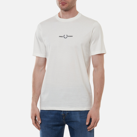 Мужская футболка Fred Perry Embroidered Snow White