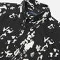 Мужская рубашка Fred Perry Monochrome Abstract Black фото - 1